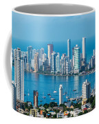 Cartagena Skyscapers Coffee Mug