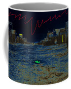 Carton E. Watkins Stereo Card Allen Street Tombstone Arizona 1880-2009  Coffee Mug