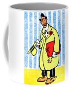 Cartoon 04 Coffee Mug by Svetlana Sewell