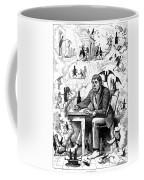 Cartoon Alcoholism, 1874 Coffee Mug