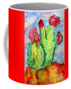 Cartoon Cactus Coffee Mug