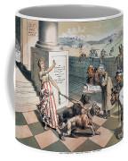 Cartoon Immigration, 1885 Coffee Mug