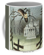 Cartoon Jay Gould, 1885 Coffee Mug