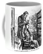 Cartoon: Phrenology, 1865 Coffee Mug