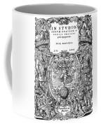 Cartouches, 1572 Coffee Mug