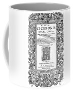 Cartouches, 1588 Coffee Mug
