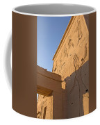 Carved Wall Of The Temple  Philae  Coffee Mug