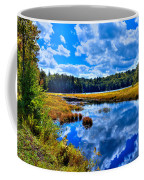 Cary Lake Near Old Forge New York Coffee Mug by David Patterson