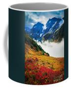 Cascade Pass Peaks Coffee Mug