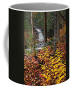 Cascade Creek  Autumn Coffee Mug
