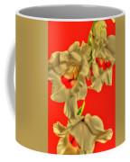 Cascading Gladiolas Coffee Mug