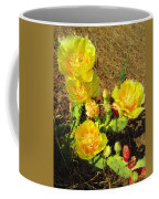 Cascading Prickly Pear Blossoms Coffee Mug