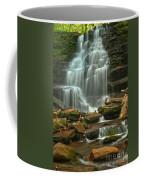 Cascading Through Ricketts Glen Coffee Mug