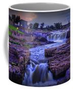 Cascading Waterfalls At Sunset Coffee Mug