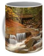 Cascades Below Flume Gorge Coffee Mug