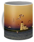 Cascumpec Lighthouse On Prince Edward Island Coffee Mug