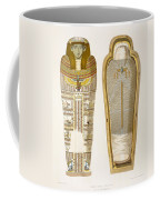 Case And Mummy In Its Cerements Coffee Mug