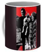 Cash Family In Red Old Tucson Arizona 1971-2008 Coffee Mug