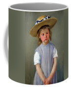 Cassatt's Child In A Straw Hat Coffee Mug