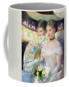 Cassatt's The Loge Coffee Mug