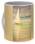 Castaway Coffee Mug by The Beach  Dreamer