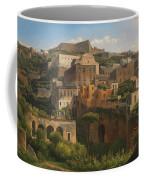 Castel Sant'elmo From Chiaia. Naples Coffee Mug