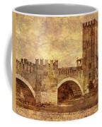 Castel Vecchio And Bridge In Verona Italy Coffee Mug