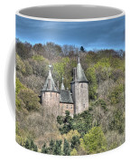 Castell Coch Cardiff Painterly Coffee Mug