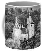 Castell Coch Mono Coffee Mug
