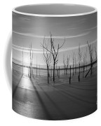 Casting Shadows Bw Coffee Mug