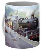 Castle At Kingswear 1957 Coffee Mug