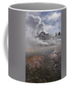 Castle Geyser In Winter Coffee Mug
