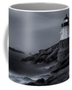 Castle Hill Lighthouse Bw Coffee Mug