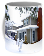 Castle In The Snow Coffee Mug