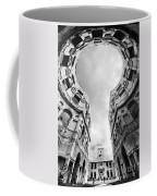 Castle Keyhole In Black And White Coffee Mug