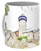 castle of the holy order - Sovinec castle Coffee Mug