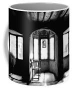 Castle Room With Chair Bw Coffee Mug