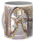 Castle Street Conwy North Wales Coffee Mug
