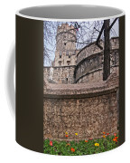 Castle With Poppies Coffee Mug