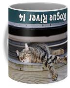 Cat And A Canoe Coffee Mug