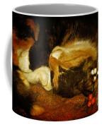 Cat Catnapping Coffee Mug