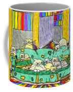 Cat Family - In The City Coffee Mug
