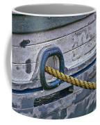 Cat Hole And Hawser Coffee Mug by Marty Saccone