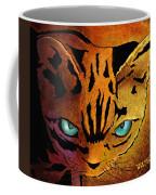 Cat. I'm Watching You Coffee Mug