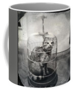 Cat In Cage Coffee Mug