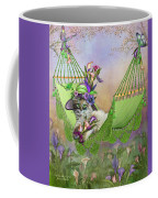 Cat In Calla Lily Hat Coffee Mug