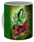 Cat In Fancy Witch Hat 2 Coffee Mug