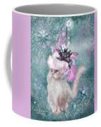 Cat In Snowflake Hat Coffee Mug