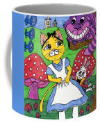 Cat In Wonderland Coffee Mug