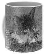 Cat - India Ink Effect Coffee Mug